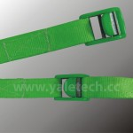 Cam Buckle Straps(PES) with green cam buckle-250kgs