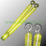 Tow Straps with 2 eye hooks YTS06
