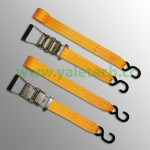 35mm Ratchet Lashing with double J hooks-2000kg
