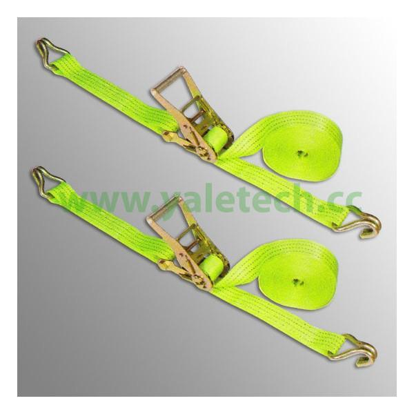 50mm straps lashing with double J hooks 5000kg lashing