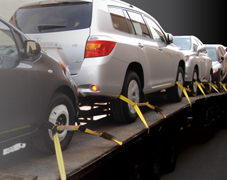 application of car lashing belt