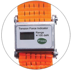 Tension force indicator