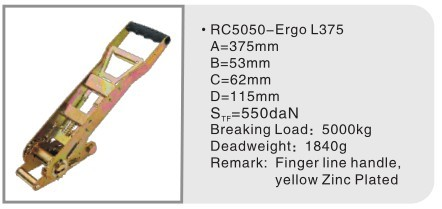 Ergo Ratchet L325 for 50mm ratchet lashing belts
